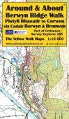 Around & About Berwyn Ridge Walk, Pistyll Rhaedr to Corwen