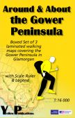 Boxed set (AAA): The Gower Peninsula 1:16K (3 maps)