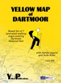 Boxed set: Yellow Map of Dartmoor - 7 maps 1:25000